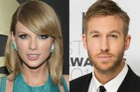 Taylor Swift and boyfriend and DJ Calvin Harris