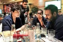 SRK-Ajay seen dining together
