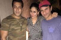 Salman Khan, Kareena and Saif Ali Khan