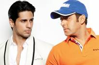 Sidharth Malhotra and Salman Khan
