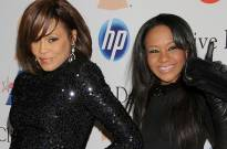 Whitney Houston and Singer Bobbi Kristina Brown