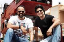 Rohit Shetty and Shah Rukh Khan