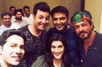 Shah Rukh Khan, Varun Dhawan, Kriti Sanon, Kapil Sharma
