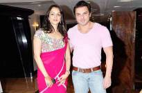 Seema Khan and Sohail Khan