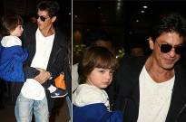 Awwwdorable AbRam thanks media for birthday wishes!