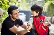 Emraan Hashmi with his son Ayaan