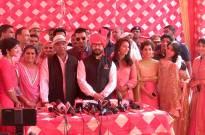 Aamir Khan at Geeta Phogat's wedding