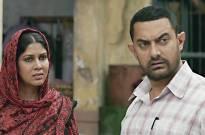 Sakshi Tanwar and Aamir Khan