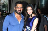 Athiya Sheety & Suniel Shetty