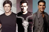Shah Rukh Khan, Salman Khan & Akshay Kumar