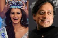 Manushi Chhillar & Tharoor
