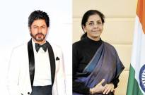 SRK gets appreciation note from Nirmala Sitharaman