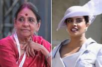 Jaya Jaitly and  Priyanka Chopra
