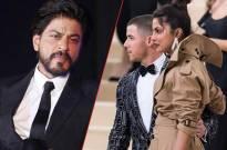 Shah Rukh Khan and  Priyanka Chopra–Nick Jonas