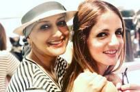 Sonali Bendre, Sussanne Khan and Gayatri Oberoi