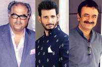 Boney Kapoor and Sharman Joshi & Rajkumar Hirani