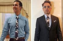 Must Check: Akshay Kumar's fashion face-off with Robert Downey Jr