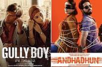 'Gully Boy', 'Andhadhun' up for honours at Melbourne