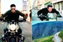 Hrithik, Tiger's bike chase on Portugal's highest peak