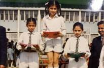 Vicky funnily trolls Taapsee on her childhood picture