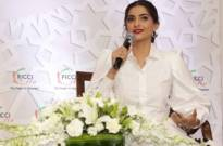 Sonam Kapoor spreads awareness on #WhyTheGap