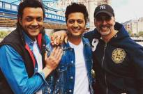 Housefull 4: Akshay Kumar gives a hilarious reply as Riteish Deshmukh and Bobby Deol tease him