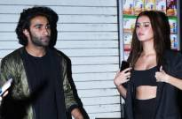Must Check: Alleged couple Tara Sutaria and Aadar Jain twin in black as they attend Malaika Arora's birthday bash
