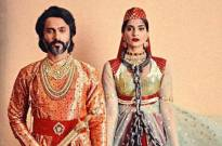 Sonam Kapoor and hubby dress up as Anarkali and Salim for Halloween