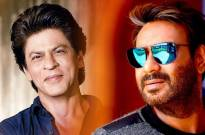 SRK tweets wishes as Ajay Devgn turns 100 films old