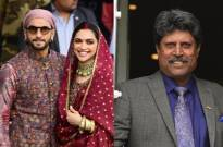 Kapil Dev's WEDDING ANNIVERSARY wish for Ranveer Singh and Deepika Padukone