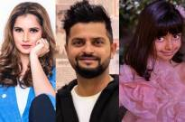 Sania Mirza and Suresh Raina shower love on Aishwarya Rai Bachchan's daughter's adorable photos
