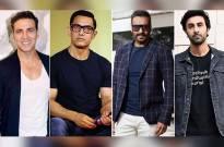 Akshay Kumar, Ajay Devgn, Aamir Khan, and Ranbir Kapoor to clash in winter 2020