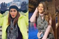Check out the Sibling Camaraderie between Kriti and Nupur Sanon in Lucerne, Switzerland