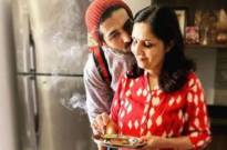 Kartik Aaryan is having a gala time as he gorges on to his 'Maa Ke Haath Ka Khana'
