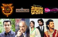 Sony TV: Popular show and their lead actors.