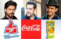 Match the following actors with their brand endorsements.