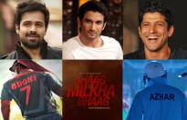 Match the Bollywood actors with their biopic films.