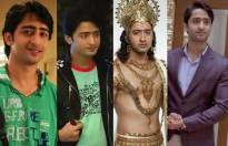 Match these Shaheer Sheikh character name with his shows.