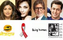 Match these celebs with their social campaigns