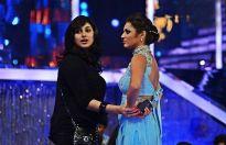 Vahbbiz Dorabjee and Drashti Dhami