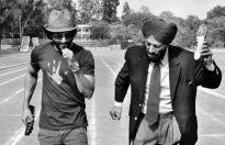 Farhan Akhtar and Milkha Singh