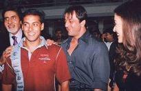 From the past: Amitabh Bachchan, Salman Khan, Sanjay Dutt and Aishwarya Rai