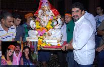Ganpati Bappa on the sets of Yeh Rishta Kya Kehlata Hai