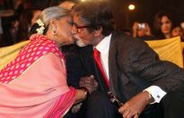 Jaya Bachchan and Amitabh Bachchan