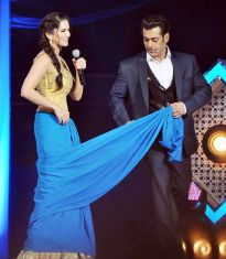 Sunny Leone and Salman Khan