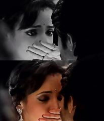 The kiss of Rudra and Paro