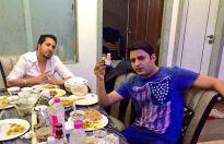 Punjabi foodies - Mika Singh and Kapil Sharma