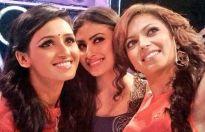 Shakti Mohan, Mouni Roy and Drashti Dhami