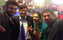 Nation wants to know - Arnab Goswami with 'Finding Fanny' cast