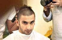 Ranveer goes bald for Bajirao Mastani